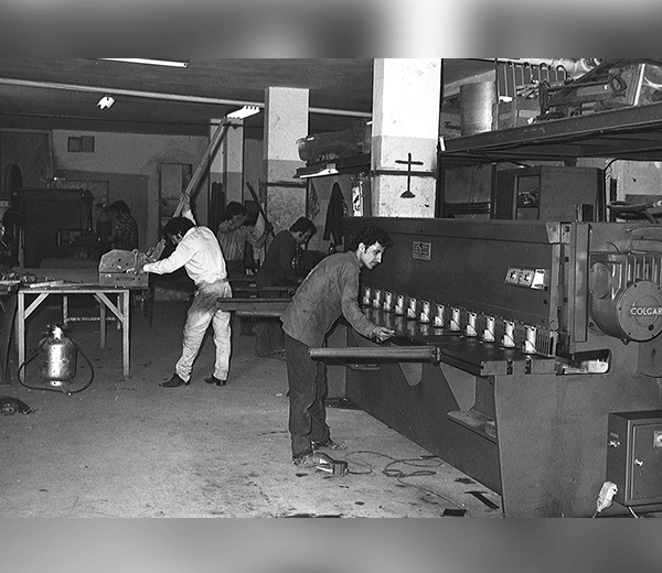 Early picture of factory from the 60's